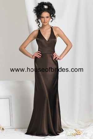 Buy Bari Jay Bridesmaid Dress with sizes 10 8 6 in Mink – ID378