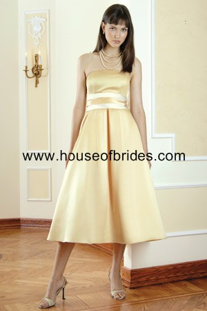 Buy Bari Jay Bridesmaid Dress with sizes 12 10 8 in Moonglow/Ivory – ID424