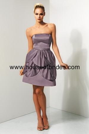 Bari Jay Bridesmaid Dress with sizes 10 8 6 in Wisteria – ID631
