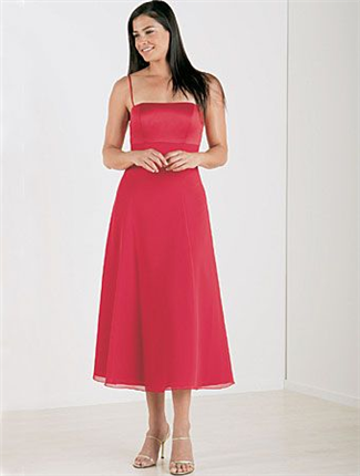 Alfred Angelo Bridesmaid Dress with sizes 14 12 10 in Cherry – ID6310