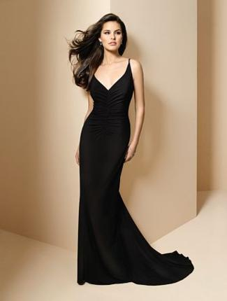 Alfred Angelo Bridesmaid Dress with sizes 10 8 6 in Black – ID6583