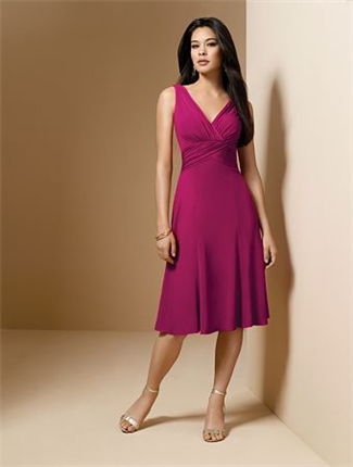 Alfred Angelo Bridesmaid Dress with sizes 10 8 6 in Azalea – ID6588