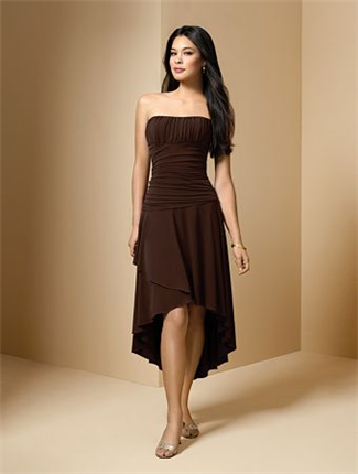 Buy Alfred Angelo Bridesmaid Dress with sizes 8 6 4 in Chocolate – ID6589