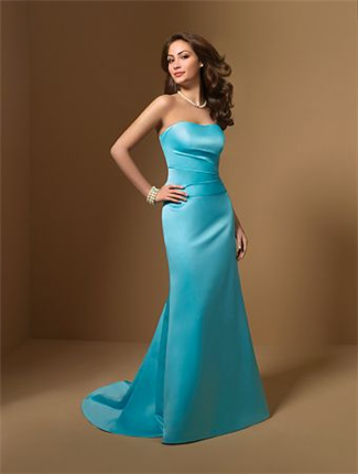 Alfred Angelo Bridesmaid Dress with sizes 14 12 10 in Pool – ID7009
