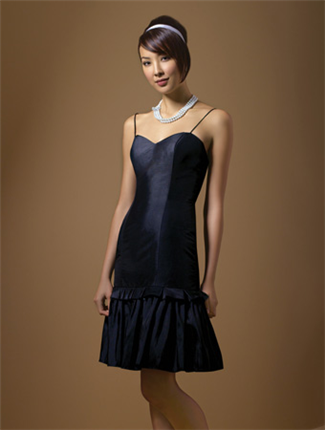 Alfred Angelo Bridesmaid Dress with sizes 10 8 6 in Black – ID7040