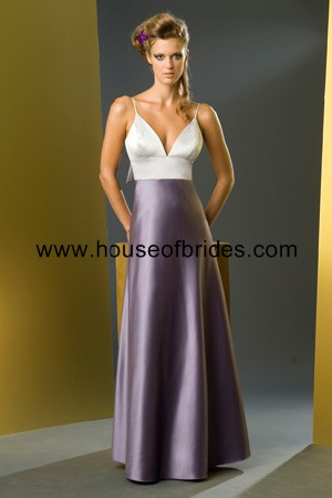 Bari Jay Bridesmaid Dress with sizes 14 12 10 in Silver/Lavender/Wisteria – ID759