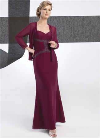 Glamor Special Occasion Mother of the Wedding Dress - B232J (Glamor Special Occasion Mothers Dresses)