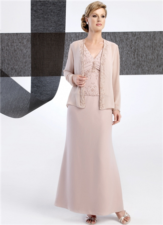 Glamor Special Occasion Mother of the Wedding Dress - B233J (Glamor Special Occasion Mothers Dresses)