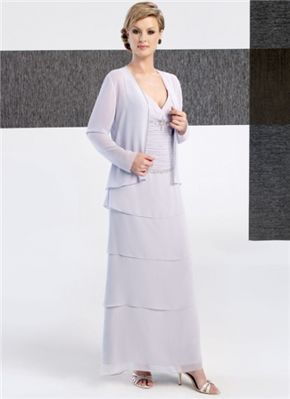Glamor Special Occasion Mother of the Wedding Dress - B235J (Glamor Special Occasion Mothers Dresses)