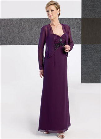 Glamor Special Occasion Mother of the Wedding Dress - B236J (Glamor Special Occasion Mothers Dresses)