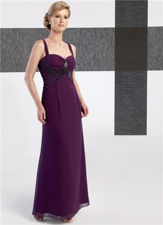 Glamor Special Occasion Mother of the Wedding Dress - B236SH (Glamor Special Occasion Mothers Dresses)