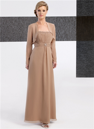 Glamor Special Occasion Mother of the Wedding Dress - B237J (Glamor Special Occasion Mothers Dresses)