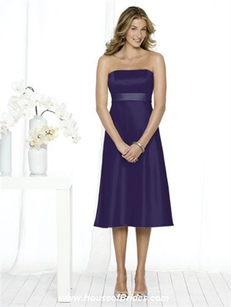 After Six Bridesmaid Dress with sizes 10 8 6 in Claret – ID6501