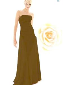 After Six Bridesmaid Dress with sizes 8 6 4 in Black – ID6241