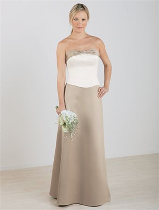 Buy Alfred Angelo Bridesmaid Dress with sizes 14 12 10 in Espresso – ID6306