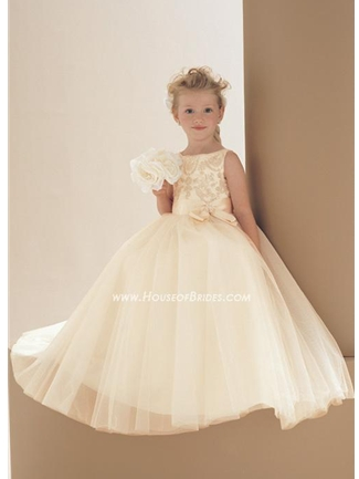 Buy Mon Cheri Flowergirl Dress – 16475 Azalea