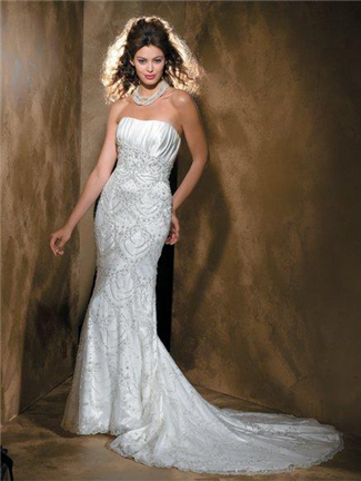 Allure Bridals Bridal Gown - 8408 (Allure Bridals Bridal Gowns)