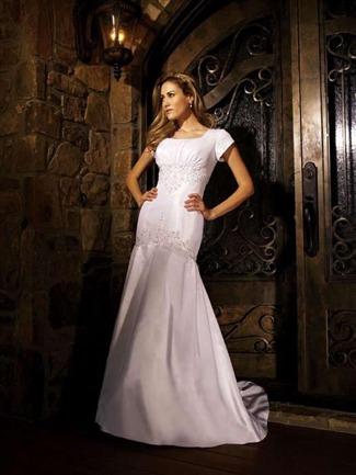 Buy Allure Modest Bridal Gown – M417