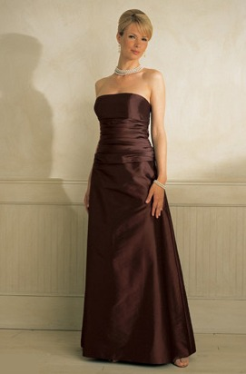 Bill Levkoff Bridesmaid Dresses with sizes 4 6 8 10 12 in Sable – ID803