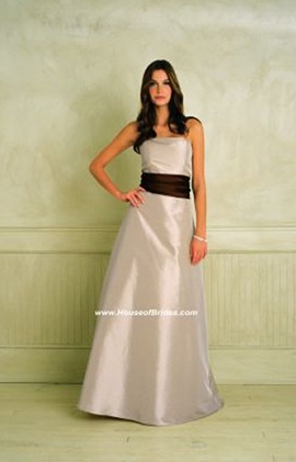 Bill Levkoff Bridesmaid Dresses with sizes 10 12 14 16 in Sable/Burnt Orange – ID557