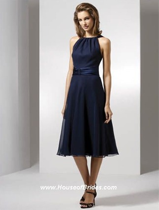 Dessy Bridesmaid Dresses with sizes 6 8 10 in Midnight - ID2507