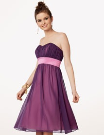 Jordan Fashions Bridesmaid Dresses with sizes 2 4 6 8 10 in Raspberry - ID218