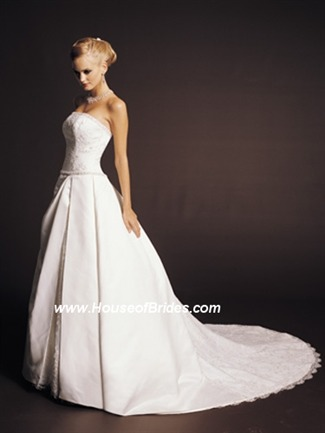 Buy James Clifford Couture Bridal Gown with sizes 10 8 6 in Ivory – IDJ1502