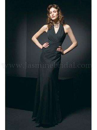 Jasmine Bridesmaid Dress with sizes 10 8 6 in Black – IDL9065