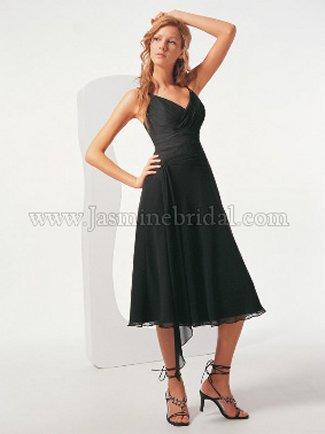 Jasmine Bridesmaid Dress with sizes 12 10 8 in Black – IDB8082
