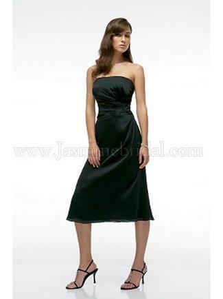 Jasmine Bridesmaid Dress with sizes 14 12 10 in Black – IDL8025