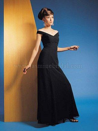Jasmine Bridesmaid Dress with sizes 12 10 8 in Black – IDL7075