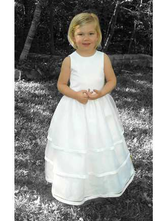 Buy Rosebud Fashions Flowergirl Dress – 5104