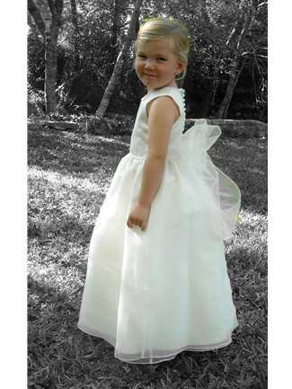Buy Rosebud Fashions Flowergirl Dress – 5105