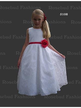 Buy Rosebud Fashions Flowergirl Dress – 5108