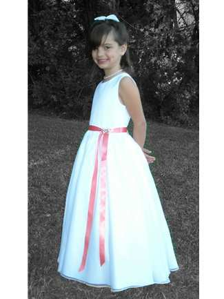 Buy Rosebud Fashions Flowergirl Dress – 5109