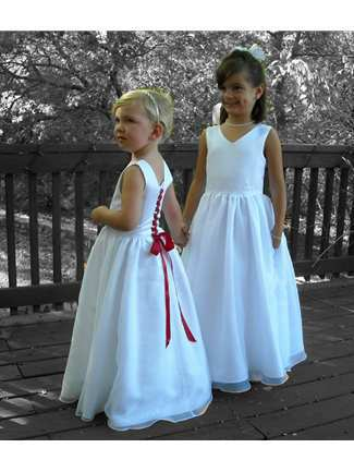 Rosebud Fashions Flowergirl Dress - 5110 (Rosebud Fashions Flower Girl Dresses)