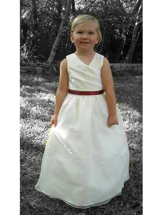 Buy Rosebud Fashions Flowergirl Dress – 5111