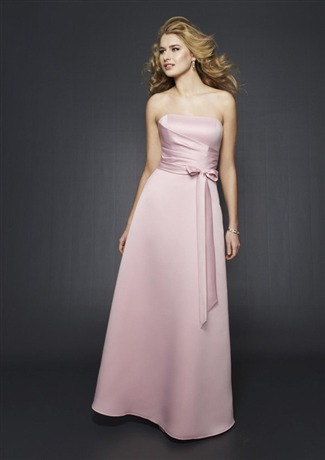 Mori Lee Bridesmaid Dress with sizes 16 14 12 in Rose - ID204