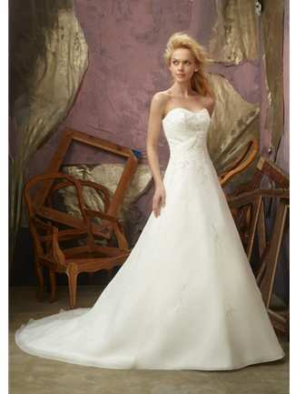 Mori Lee Bridal Gown - 2105 (Mori Lee Bridal Gowns)