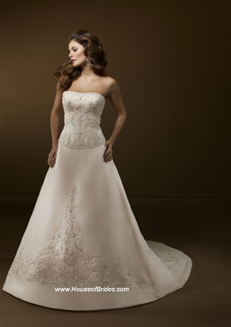 Mori Lee Bridal Gown - 2167 (Mori Lee Bridal Gowns)