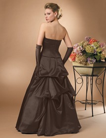 Buy Jordan Fashions Bridesmaid Dress with sizes 8 6 4 in Chocolate – ID301