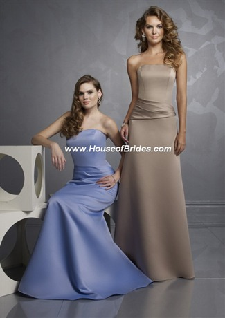Mori Lee Bridesmaid Dress with sizes 16 14 12 in Claret – ID369