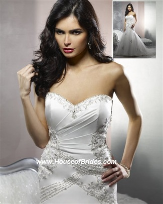 Buy Forever Yours Bridal Gown with sizes 14 12 10 in White – ID49111