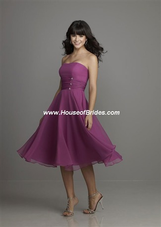 Affairs by Mori Lee Bridesmaid Dress with sizes 12 10 8 in Smoke – ID788