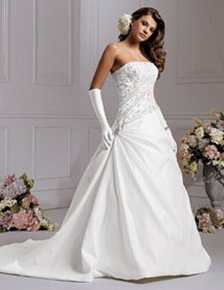 Jordan Bridals Bridal Gown - M656 (Jordan Bridals Bridal Gowns)