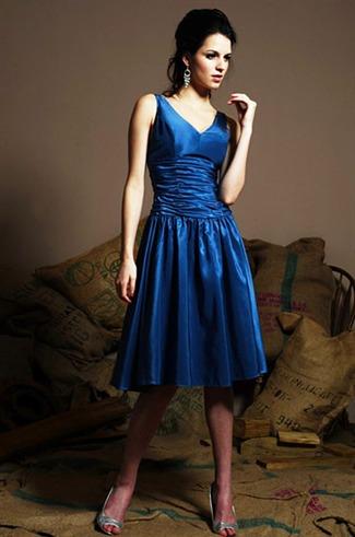 Buy Eden Bridals Bridesmaid Dresses with sizes 10 8 6 in Indigo – ID7189TR