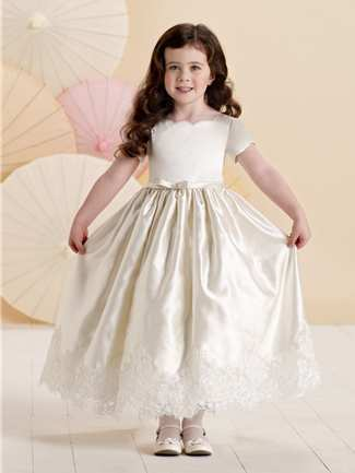 Joan Calabrese Flower Girl Dress Style 214370 | House of Brides
