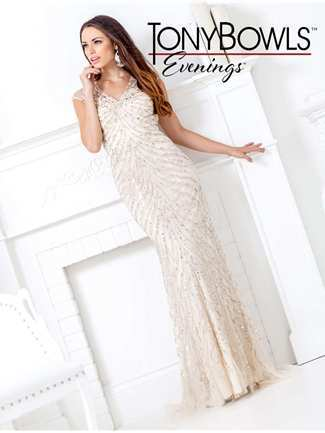 Tony Bowls Evenings Special Occasion Dress Style TBE11507 | House of Brides