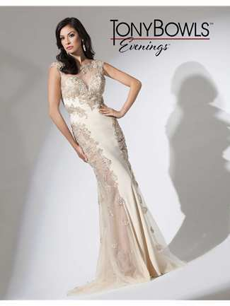 Tony Bowls Evenings Special Occasion Dress Style TBE11513 | House of Brides