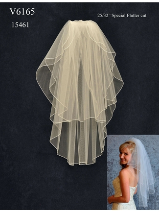 JL Johnson Bridals Veil Style V6165 | House of Brides